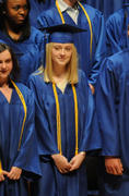 Dakota Fanning - At Her Graduation Ceremony 06/06/11