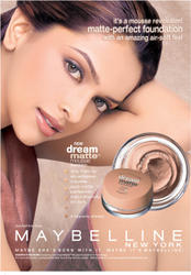 Indian actress Deepika Padukone - Maybelline Ads - x6 HQ/MQ