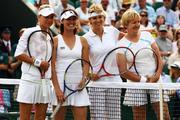 Anna Kournikova and Martina Hingis Wimbledon Tennis Championships, 2010